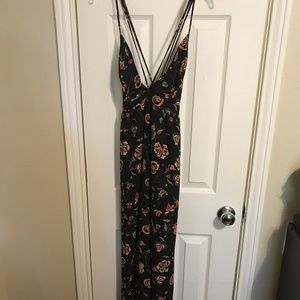 Forever 21 strappy floral maxi dress